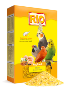 Яичный корм для попугаев рио